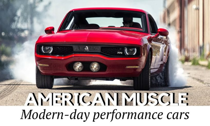 10 new muscle cars better than american classics (record speeds