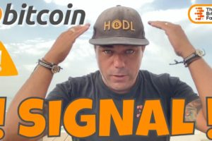ATTENTION! THE LAST TIME THIS BITCOIN SIGNAL FLASHED 3 MONTHS AGO, THIS IS WHAT HAPPENED!!