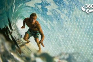 Surfing 101: A Virtual Reality Experience (360 Video)