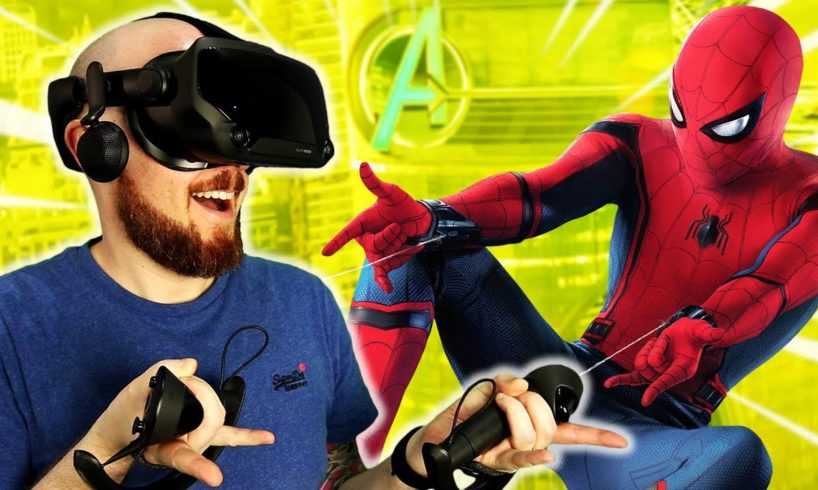 Become Spider-Man In Virtual Reality