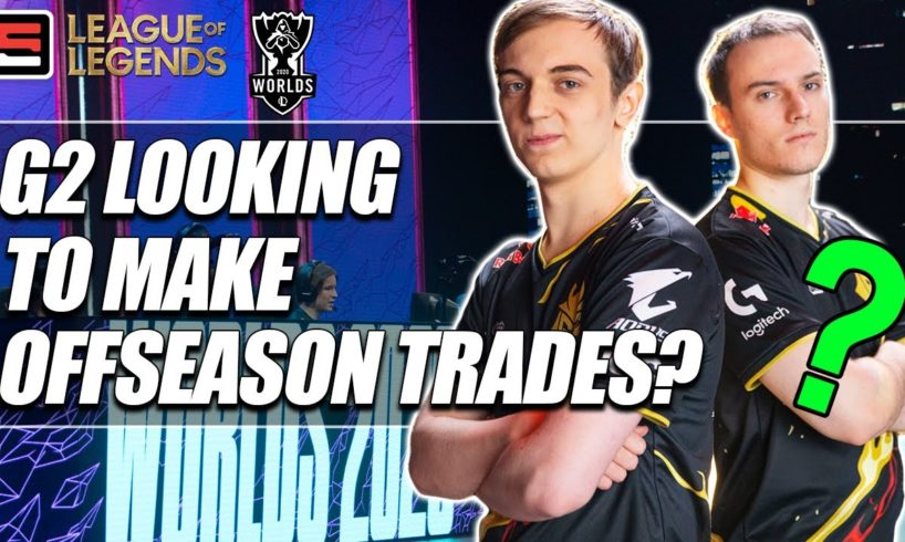 How will G2's roster change in the off-season? | ESPN Esports