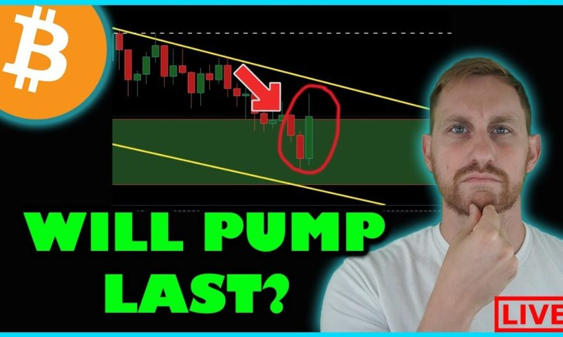 WILL TODAY'S BITCOIN PUMP CONTINUE?