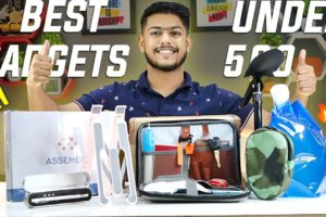 Best 5 Must Have amazon gadgets 2021 India| Cool Tech Gadgets Only For 500| Survival Gadgets|