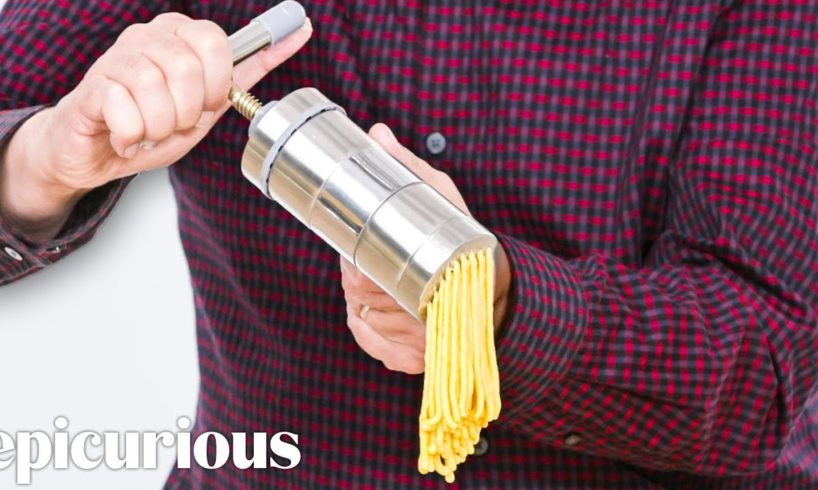 5 Pasta Making Gadgets Tested By Design Expert   Well Equipped   Epicurious