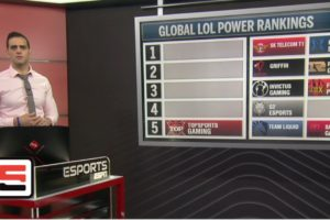 League of Legends global power rankings through March 26th | ESPN Esports
