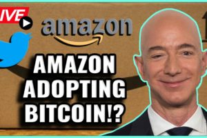 Bitcoin to be adopted by Amazon AND Twitter! Will This Cause a Bitcoin Rally? Coffee N Crypto LIVE