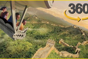 VR Virtual Reality 360: Fly around the World