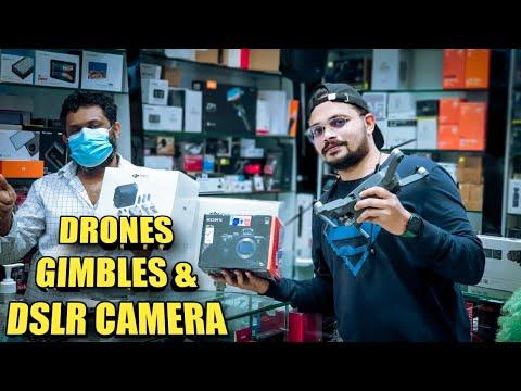 CHEAPEST CAMERA & DRONE MARKET DUBAI 2021 |  EP 3 #drones #cheapestcamera #aneesmukadam