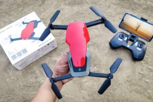 Let's Unbox Foldable Camera Drone (Q636-B) With Headless Mode & 360° Flip