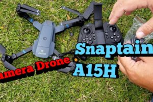Snaptain A15H WiFi Camera Drone. First toy grade camera drone.