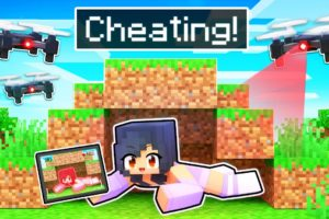 Using Camera Drones To CHEAT In Minecraft!