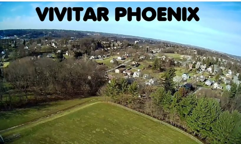 Vivitar VTI Phoenix Foldable Camera Drone SD Card Video