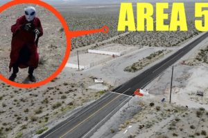 you will not believe what my drone caught on camera inside of top secret Area 51 (alien proof)