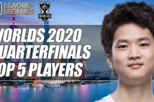 ESPN's Top 5 Players from Worlds 2020 Quarterfinals | ESPN Esports