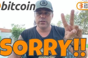 SORRY!! BITCOIN IS PREPARING THIS MOVE AND THESE CHARTS SHOW IT ALL!!