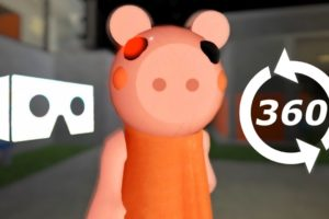 ? VR video ROBLOX 360° Piggy Jumpscare Fail Fake Virtual Reality Experience Test