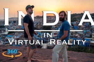 INDIA IN 360 Virtual Reality | Royal Rajasthan Travel Video
