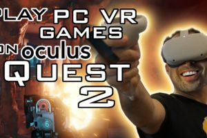 Play PC VR Games on Your Oculus Quest 2!!! - How to Use Oculus Link and Oculus Air Link