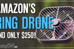 """Amazon's AUTONOMOUS SECURITY DRONE - Ring """"Always Home Cam""""! ONLY $250!"""