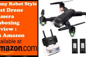 ✅Army Robot Style ✅ Best Drone Camera Unboxing With Drone Camera Review✅