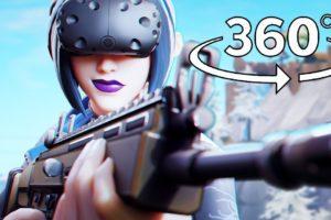 Fortnite in 360° Virtual Reality