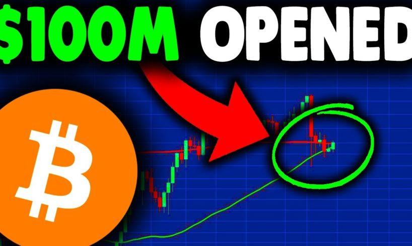 $100 MILLION BITCOIN LONGS OPENED (important)!!! BITCOIN NEWS TODAY & BITCOIN PREDICTION AFTER CRASH