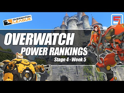Overwatch League Stage 4 Week 5 power rankings | ESPN Esports