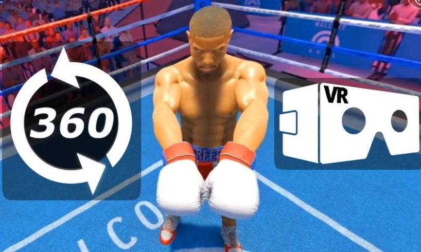? 360 VR Video Boxing Rocky Balboa's CREED Rise to Glory Virtual Reality Immersive Game