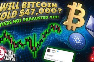 Bitcoin Live : Will BTC Hold $47,000?