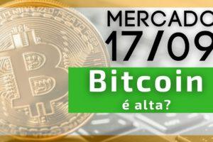 Bitcoin segue em alta? Mercado apreensivo.