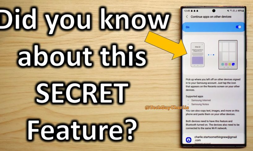 This Advanced HIDDEN Feature on Samsung Smartphones is AWESOME
