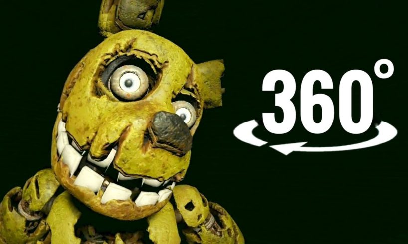 VR video 360°   FNAF Five Nights at Freddy's Help Wanted Virtual Reality 4K
