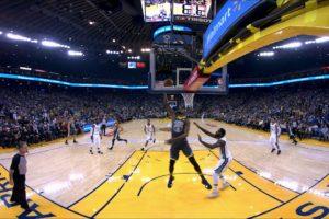 NBA in VR - Best Of Warriors and Celtics Highlights | NextVR