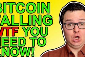 Bitcoin & Crypto Crashing On Macro Fears!