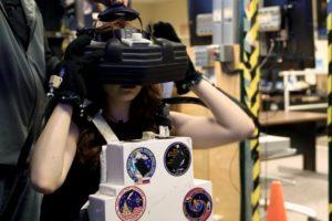 Walking through space in NASA's Virtual Reality Lab