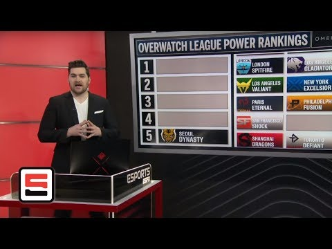 Overwatch League Power Rankings season 2 through week 2   ESPN Esports