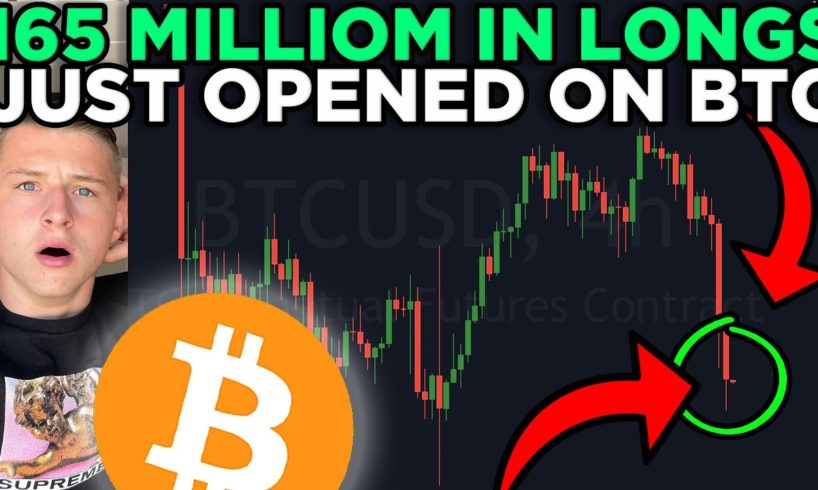 WHAT JUST HAPPENED TO BITCOIN!!!?? + INSANE AMOUNT OF LONGS JUST GOT OPENED!