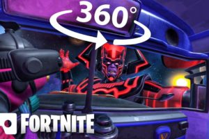 360° VR GALACTUS EVENT | End of Season Fortnite Event