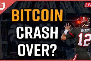 BITCOIN CRASH Over? | Tom Brady Wants Crypto! |Bitcoin Price Prediction | Coffee N Crypto LIVE