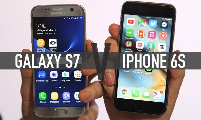 Samsung Galaxy S7 Vs iPhone 6S: clash of the tech titans