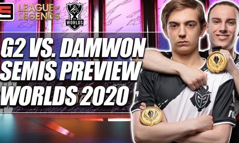 Damwon vs. G2 Worlds Semifinals Preview   ESPN Esports