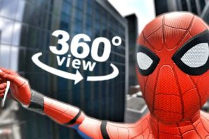 SPIDERMAN Virtual Reality Experience No Way Home 360 VR 3D