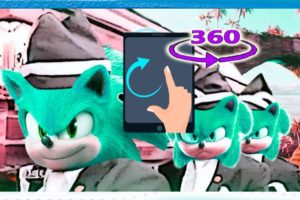 👽 SONIC.EXE in Parallel Universe Coffin Dance (COVER) Virtual Reality 360°