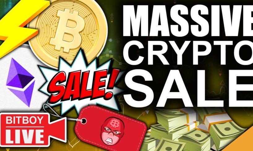 Bitcoin And Ethereum On A FIRE SALE (Evergrande $19 Billion Bailout)