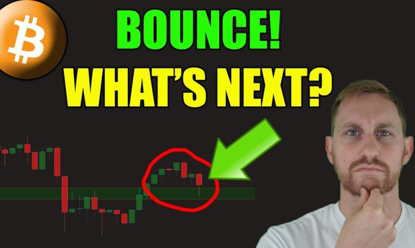 BITCOIN BOUNCES, WHAT NOW?