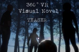 360 Virtual Reality Visual Novel - TEASER - VR Game under development for Oculus & Google Carboard