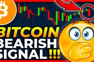 BITCOIN WARNING!!!!! BEARISH SIGNAL FLASHING!!!! Bitcoin Price Prediction 2021 // Bitcoin News Today