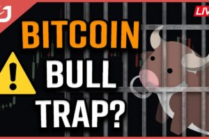 BITCOIN BULL TRAP?! | This Bitcoin Technical Analysis Says We're Headed Lower! Coffee N Crypto LIVE