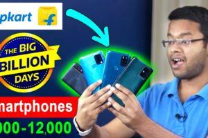 Flipkart Big Billion Day 2021 Smartphones 6000 - 12000 | Big Billion Day Flipkart 2021 Mobile Offers