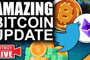 Amazing New Bitcoin Twitter Feature (2021 Bitcoin & Ethereum Roller Coaster)